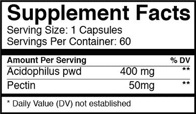 probio5 supplement facts